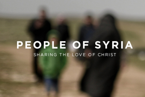 Audio Interview – Sharing the love of Christ with the People of Syria